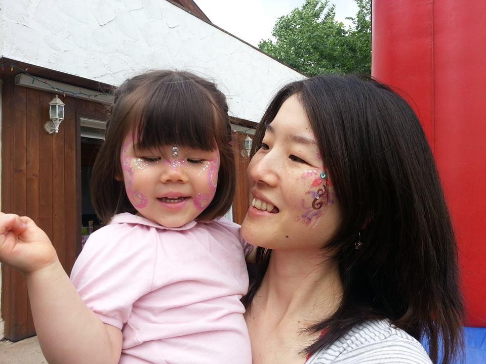 Erika & Mommy