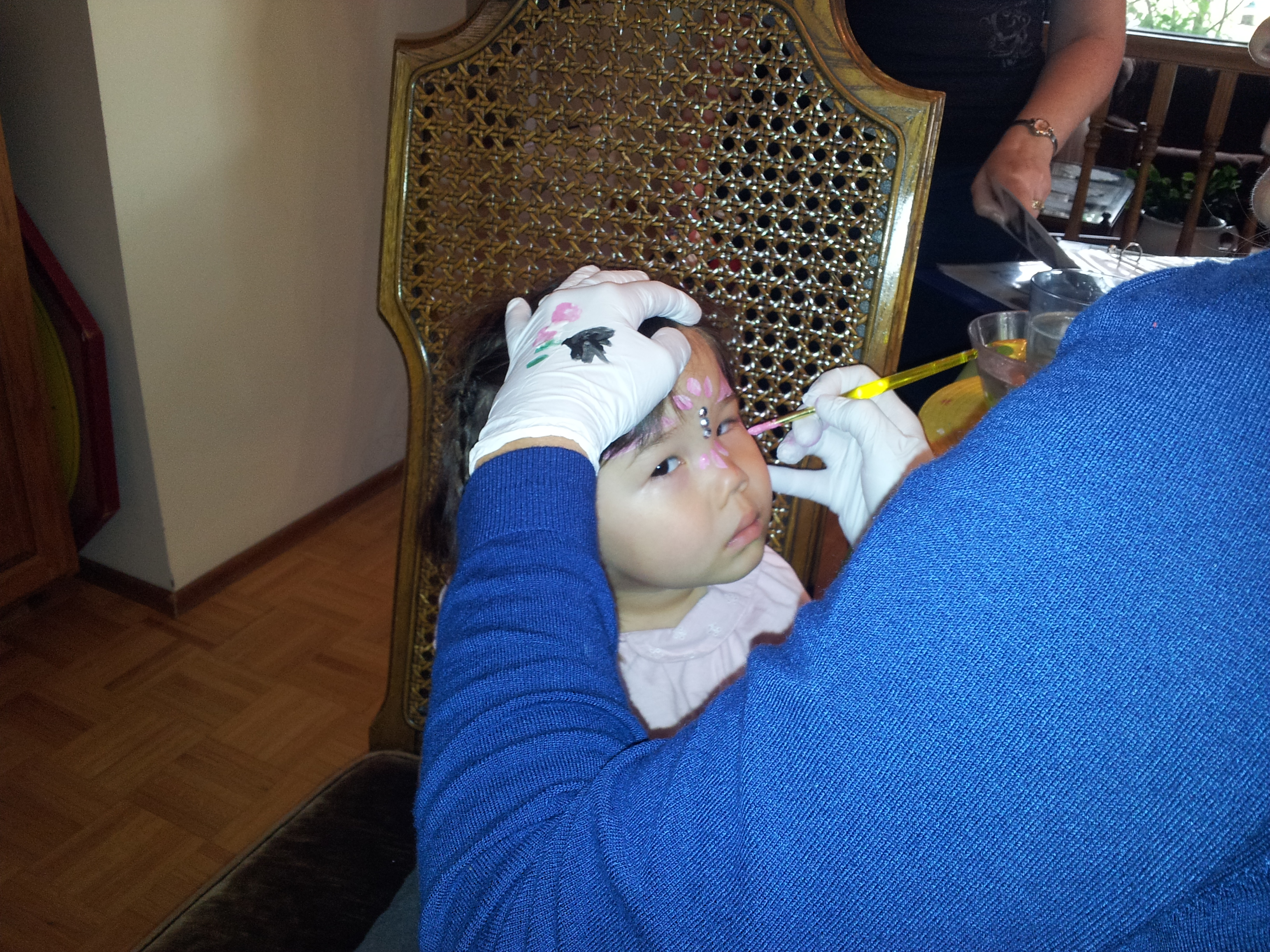 First Face Painting